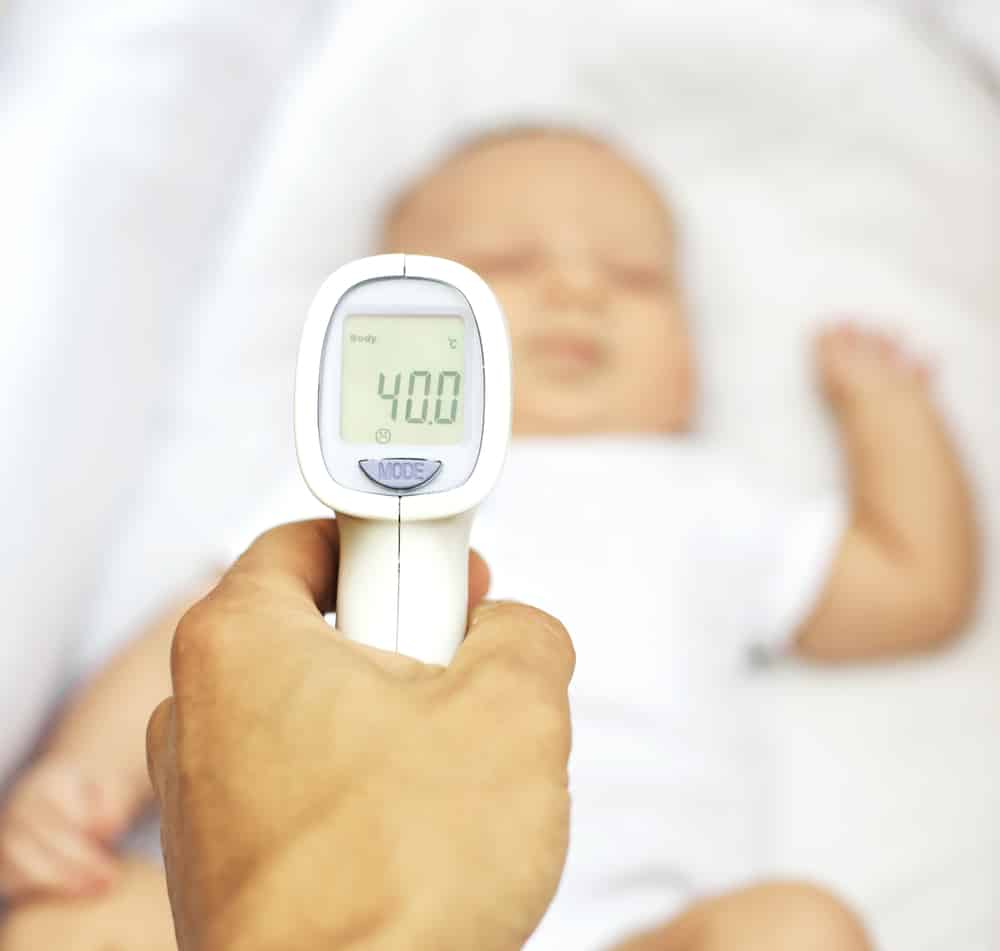 Infrarot-Thermometer zum Fiebermessen
