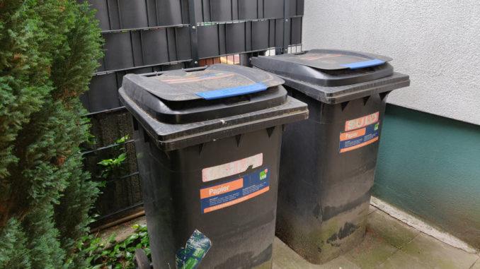 Mülltonnenplatz